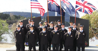 Pupil pride on parade for Anzac Day 2016