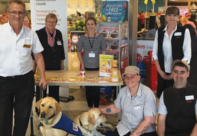 Coles Glenorchy raises funds for blind and vision impaired