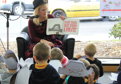 Hats off to National Simultaneous Storytime
