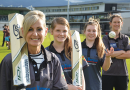 Archer goes in to bat for the Glenorchy Cricket Club