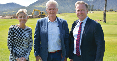 Local construction firm drives progress at Claremont Golf Club
