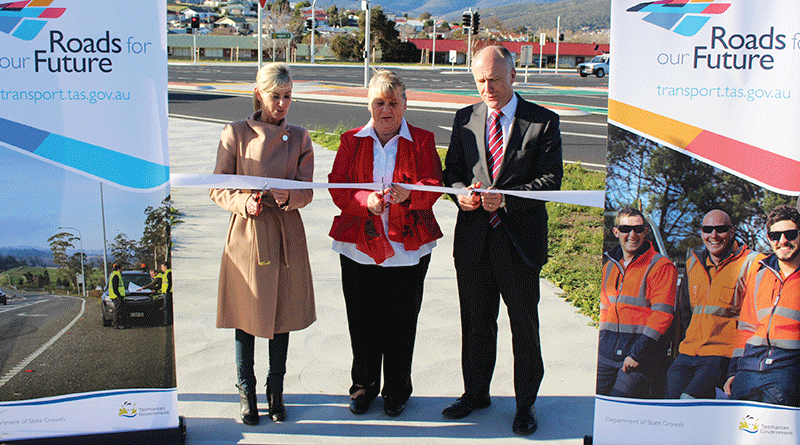 Brooker Highway a smoother drive with completed junction upgrade