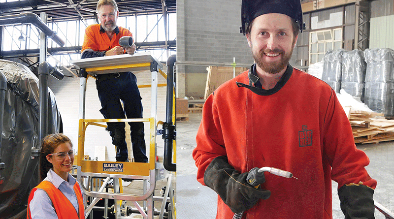 Glenorchy factory manufactures treatment plants for Tassie towns