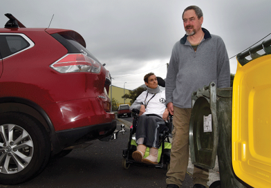 Highlighting access issues in the City of Glenorchy