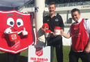 Footy club kicks off annual Red Shield Appeal