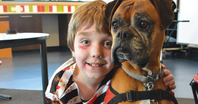 Canines key to improving childhood literacy