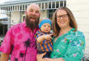 Warren family rock their brightest tops for Loud Shirt Day