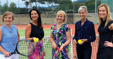 Glenorchy City Tennis Club lights up